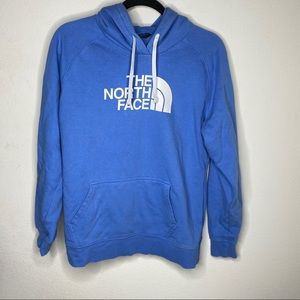 North Face Turquoise Hoodie Size Large
